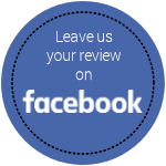 Leave us your review on Facebook