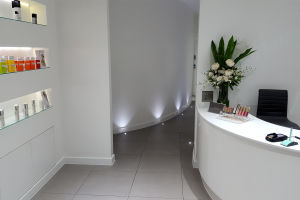 Sheer Laser Clinic reception area
