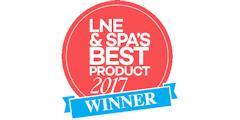 LNE & Spa's Best Product 2017 Winner